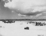 Kindley Field, Bermuda with B-17 Fortresses of the 390th Bomb Group in transit from the US to England, 22 Jun 1943
