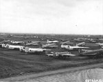 Spare and surplus USAAF aircraft at Bari Airfield, Italy, Oct 1944.