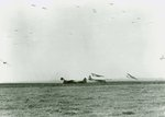 C-47 Skytrains tow CG-4A Gliders to their landing areas on D+1 of Operation Market Garden, Sep 18 1944