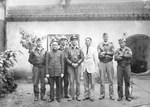 Doolittle Raiders Crew #2 in China pose with some of the Chinese Nationals who helped them evade the Japanese, late April 1942