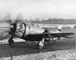 P-47D Thunderbolt of the 353rd Fighter Squadron flown by Maj Glenn T Eagleston, Squadron Commanding Officer and top ace of 9th Air Force with 18.5 kills, Rosieres en Haye Airbase, France, Feb 1945.