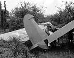 A training accident ends the career of this Waco CG-4A troop glider, 1942-43.