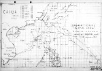 Task Force 38 operational track for Operation Gratitude into the South China Sea, Dec 30, 1944 through Jan 26, 1945.