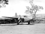"A-20A Havoc ""Hell & Fire"" of the 89th Bombardment Squadron at 3-Mile Airstrip of the Port Moresby Aerodrome complex, Australian Papua New Guinea, Jan-May 1943."