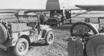 82nd Airborne Division loading Jeeps into Waco CG-4A gliders about Sep 14, 1944 for Market Garden on Sep 17. The box in the left Jeep is a SCR-625-C mine detector and a paratrooper bicycle is in the right Jeep
