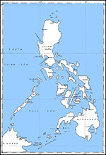 Map of the Philippine Islands