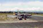 B-25 Mitchell of the 17th Reconnaissance Squadron (Bombardment) at Lingayen Field, Luzon, Philippines, Apr-May 1945