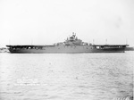 USS Yorktown (Essex-class) at Norfolk, Virginia, United States, 1 Jul 1943