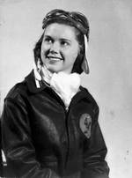 WASP pilot Susie Winston Bain, Avenger Field, Sweetwater, Texas, United States, May 1944
