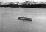 US carrier Ranger at anchor in Kachemak Bay near Homer, Territory of Alaska, 1936