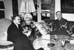 Vyacheslav Molotov and Joachim von Ribbentrop, Berlin, Germany, 12 Nov 1940. Photo 2 of 2.