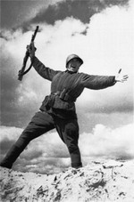 Soldier of Soviet Second Byellorussian Front, 1944