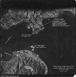 US 14th Air Force B-24 and B-25 bombers attacking Hong Kong harbor, 16 Oct 1944, photo 2 of 2