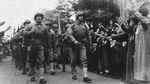 US Marines entering Tianjin, China, 30 Sep 1945, photo 1 of 2