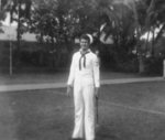 US Navy submariner, 1943-1945; he was likely a crewmember of USS Billfish, USS Bowfin, or USS Burrfish