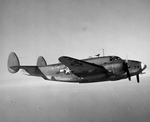 A US Navy PV-1 Ventura patrol bomber of Bombing Squadron VB-136 in flight over Aleutian Islands, Alaska, 1944