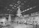 Interior of Chigusa room, Imperial Palace, Tokyo, Japan, late 1800s