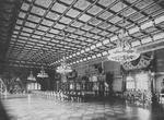 Interior of Houmei room, Imperial Palace, Tokyo, Japan, late 1800s