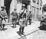 George Patton in Gela, Sicily, Italy, mid-Jul 1943