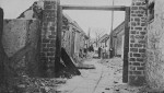 Damaged civilian homes, Jinan, Shandong Province, China, circa 4 May 1928, photo 3 of 8