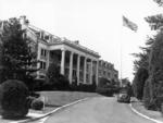 Arlington Hall main building, Arlington, Virginia, United States, circa 1943