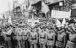 Protest against the Japanese invasion of China, Guangzhou, Guangdong Province, China, 25 Jul 1938