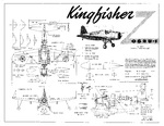 1939 sketch of plans for the OS2U-1 Kingfisher