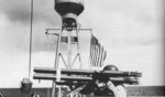 PT-354 of MTB Squadron 25 with a mount of multiple M1 Bazooka rocket launchers positioned abaft the mast, Taboga Naval Station, Panama Canal Zone, 17 Dec 1943.