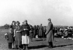 Jews being rounded up outside Lubny, Ukraine, 16 Oct 1941