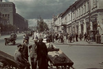 Street view, Kharkov, Ukraine, Oct-Nov 1941