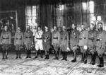 Adolf Hitler with newly appointed Field Marshals, Kroll Opera House, Berlin, Germany, 19 Jul 1940