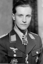 Portrait of Hans-Joachim Marseille, 1942