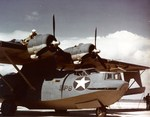 PBY-5A Catalina on the ramp probably at NAS Isla Grande, San Juan, Puerto Rico, Aug or Sep 1942.