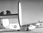 PB4Y-1 Liberator from US Navy Patrol Squadron VP-114 on the ramp at Norfolk, Virginia, United States, circa Aug 1943.