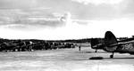 A squadron of PV-1 Ventura patrol planes on the ramp at Ault Field, NAS Whidbey Island, Washington, United States, mid 1944.