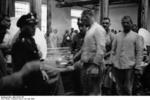Prisoners at Dachau Concentration Camp, Germany, 24 May 1933