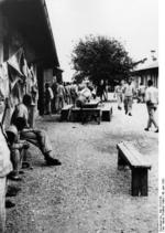 Prisoners, Dachau Concentration Camp, Germany, 10 Jun 1933