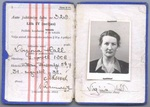 Estonian drivers license for Virginia Hall, 1938.