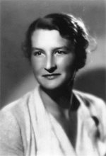 Virginia Hall, circa 1941, a studio portrait likely taken for her passport.