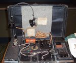 Suitcase radio used by Virginia Hall to send messages about German troop movements to London and to coordinate parachute drops for the French Resistance, now in possession of the Smithsonian Institution.