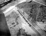 C-47 Skytrain tow planes lined up on a glider training airstrip in Texas, 1943.