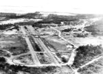 Aerial view of Nadzab Airfield, Territory of New Guinea, 1944