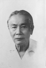 Portrait of Tran Trong Kim, early 1950s