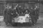 Carden Loyd tankette of Polish 9th Armored Battalion, 1938