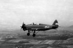UT-2 trainer aircraft in flight, date unknown