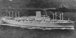Cargo-passenger ship Ancon underway, circa 1939-1941