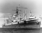 USS Ancon, Chesapeake Bay, United States, 8 May 1943
