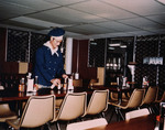 A Chief Petty Officer Mess aboard USS Proteus while at Mare Island Naval Shipyard, California, United States, Nov 1972