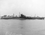 USS S-44 off Philadelphia Navy Yard, Pennsylvania, United States, 11 Jun 1943