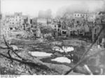 Saint-Lô in ruins, France, Jun-Jul 1944